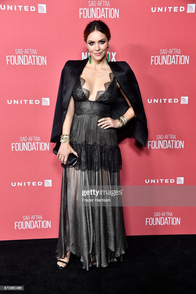 Katharine McPhee attends SAG-AFTRA Foundation Patron of the Artists Awards at the Wallis Annenberg Center for the Performing Arts 2017 on November 9, 2017 in Beverly Hills, California.