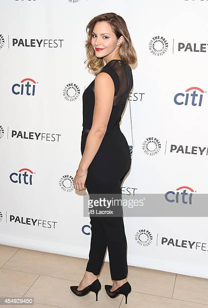 Katharine McPhee attends the 2014 PaleyFestFall TV Previews CBS on September 7 in Beverly Hills California