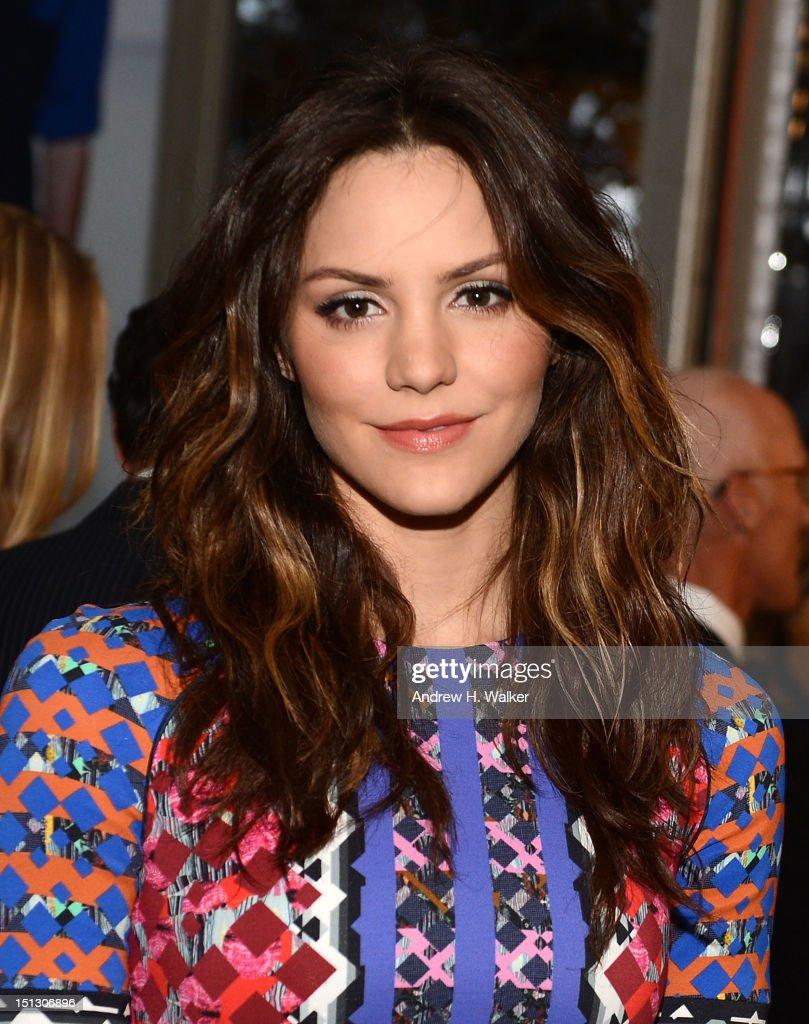 Katharine McPhee attends the 9th annual Style Awards during Mercedes-Benz Fashion Week at The Stage Lincoln Center on September 5, 2012 in New York City.