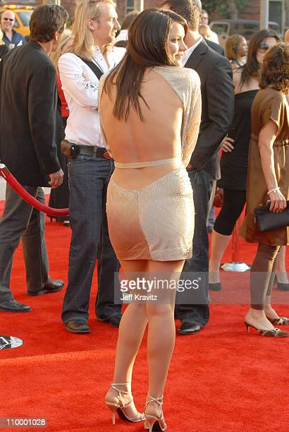 Katharine McPhee during 2006 American Music Awards Arrivals at Shrine Auditorium in Los Angeles California United States