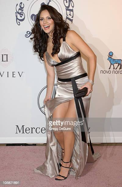 Katharine McPhee during MercedesBenz Presents the 17th Carousel of Hope Ball Arrivals at Beverly Hilton Hotel in Beverly Hills California United...