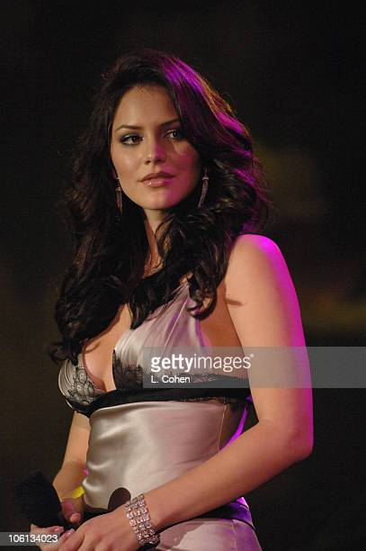 Katharine McPhee during MercedesBenz Presents the 17th Carousel of Hope Ball Show at Beverly Hills Hilton in Beverly Hills California United States