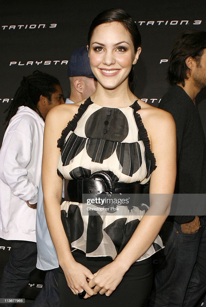 Katharine McPhee during PLAYSTATION 3 Launch - Red Carpet at 9900 Wilshire Blvd. in Los Angeles, California, United States.