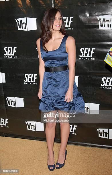 Katharine McPhee during Self Magazine Party at Tenjuene in New York City New York United States