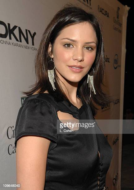 Katharine McPhee during Songs of Hope IV at Esquire House 360 Red Carpet at Esquire House 360 in Beverly Hills California United States