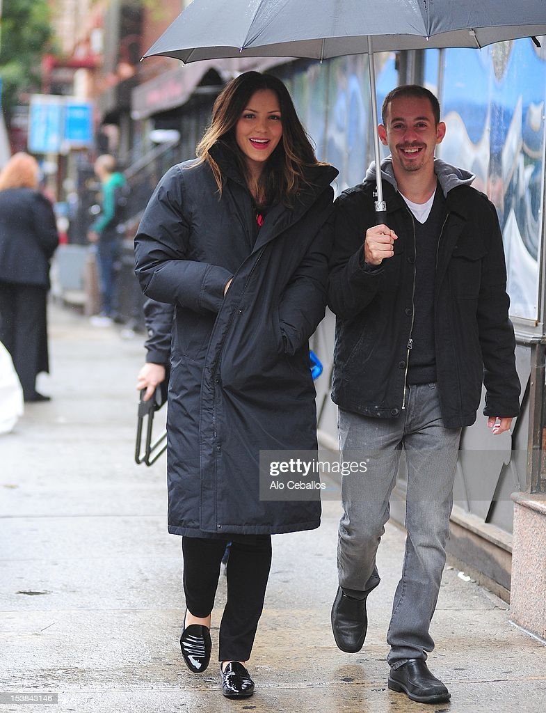 <a gi-track='captionPersonalityLinkClicked' href=/galleries/search?phrase=Katharine+McPhee&family=editorial&specificpeople=581492 ng-click='$event.stopPropagation()'>Katharine McPhee</a> is seen on the set of 'Smash' on October 9, 2012 in New York City.