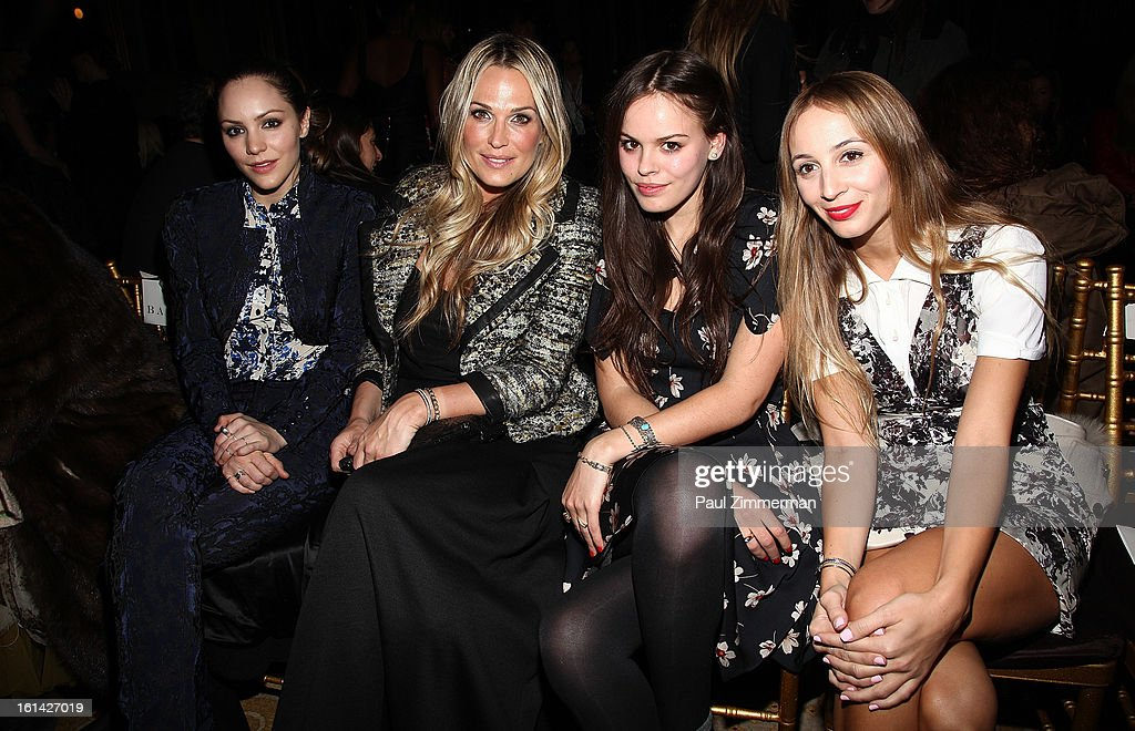 <a gi-track='captionPersonalityLinkClicked' href=/galleries/search?phrase=Katharine+McPhee&family=editorial&specificpeople=581492 ng-click='$event.stopPropagation()'>Katharine McPhee</a>, <a gi-track='captionPersonalityLinkClicked' href=/galleries/search?phrase=Molly+Sims&family=editorial&specificpeople=202547 ng-click='$event.stopPropagation()'>Molly Sims</a>, Atlanta De Cadenet and Harley Viera Newton attend Zac Posen during Fall 2013 Mercedes-Benz Fashion Week on February 10, 2013 in New York City.