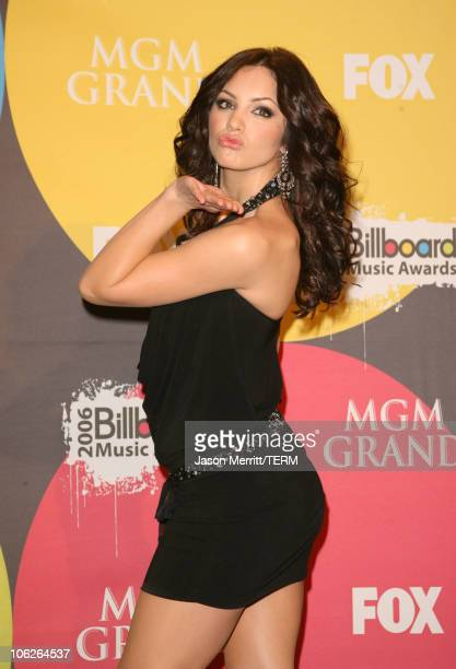 Katharine McPhee presenter during 2006 Billboard Music Awards Press Room at MGM Grand Hotel Casino in Las Vegas Nevada United States