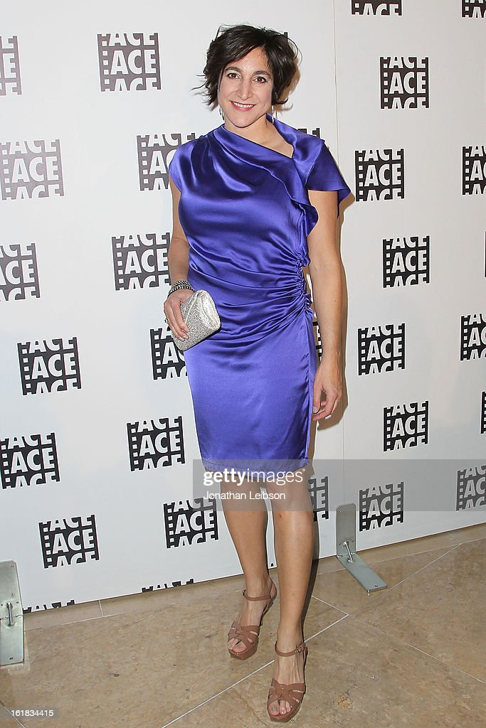 Katharine Sarafian attends the 63rd Annual ACE Eddie Awards at The Beverly Hilton Hotel on February 16, 2013 in Beverly Hills, California.