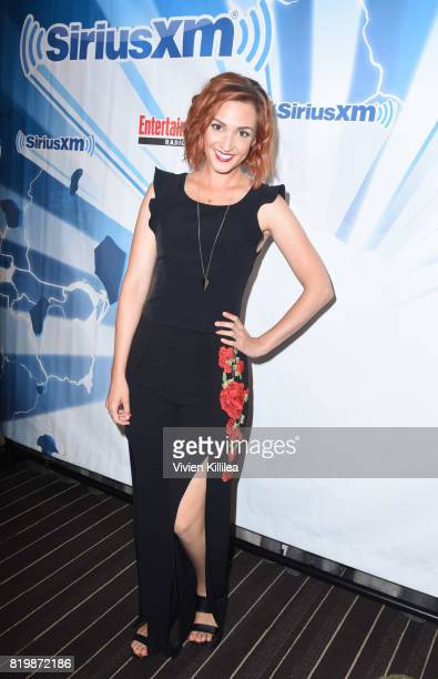 Katherine Barrell attends SiriusXM's Entertainment Weekly Radio Channel Broadcasts From Comic Con 2017 at Hard Rock Hotel San Diego on July 20 2017...