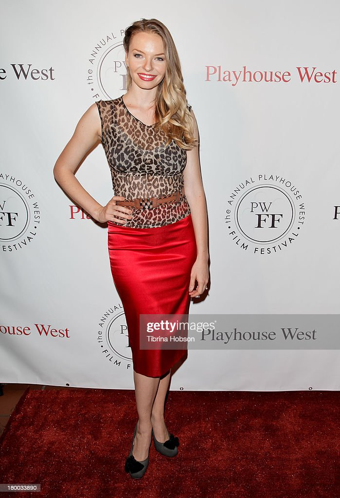 Katherine Boecher attends the 17th annual Playhouse West Film Festival 'Daisy's' premiere at El Portal Theatre on September 7, 2013 in North Hollywood, California.