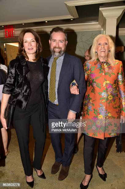 Katherine Bryan Clinton Smith and Cynthia Frank attend the launch of Second Bloom Cathy Graham's Art of the Table hosted by Joanna Coles and Clinton...
