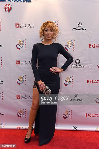 Katherine Castro appears at the 2016 CAFF Opening Ceremony And Golden Angel Awards Ceremony at The Ricardo Montalban Theatre on November 2 2016 in...