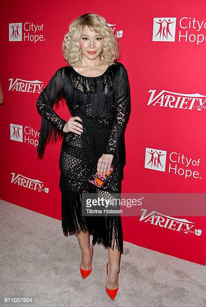 Katherine Castro attends Variety's 10 Latinos to watch event at The London West Hollywood on September 28 2016 in West Hollywood California