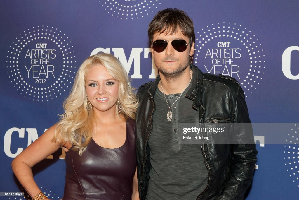 Katherine Blasingame and Eric Church attend the 2012 CMT 'Artists Of The Year' Awards at The Factory At Franklin on December 3 2012 in Franklin...