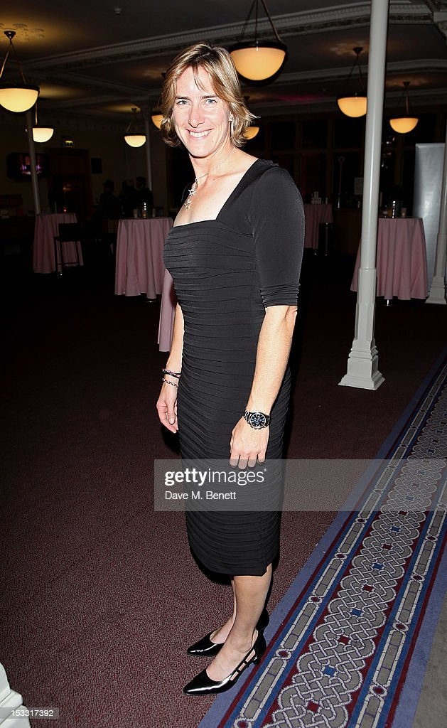 Katherine Grainger arrives at The Inspiration Awards For Women 2012 at Cadogan Hall on October 3, 2012 in London, England.
