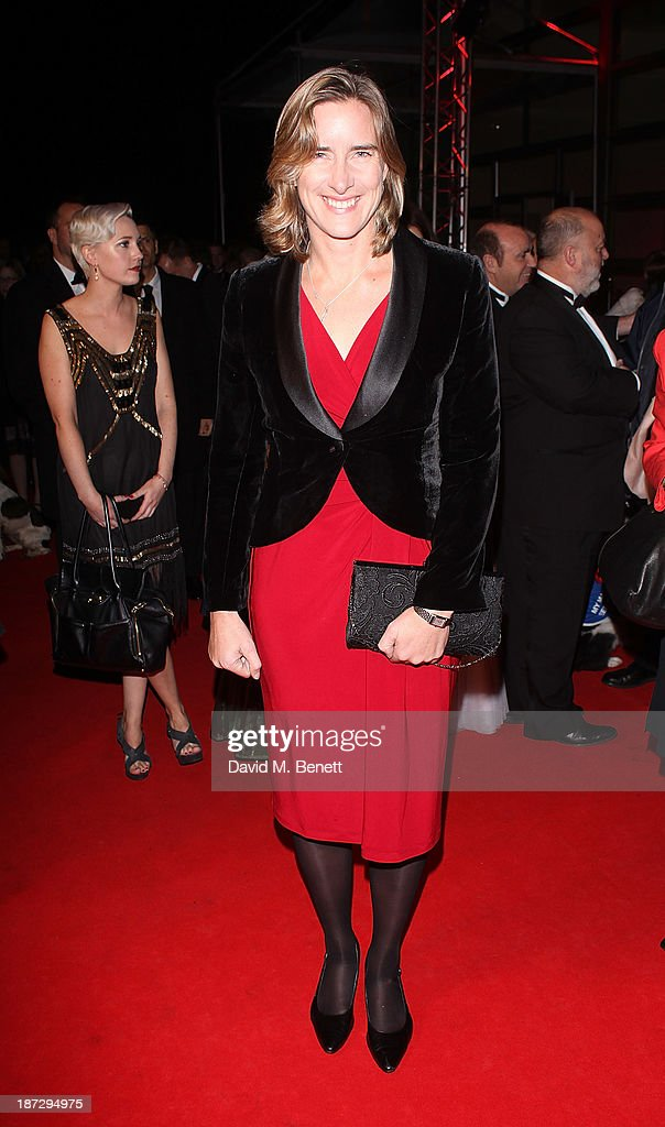 <a gi-track='captionPersonalityLinkClicked' href=/galleries/search?phrase=Katherine+Grainger&family=editorial&specificpeople=240295 ng-click='$event.stopPropagation()'>Katherine Grainger</a> CBE attends the annual Collars and Coats gala ball in aid of Battersea Dogs & Cats home at Battersea Evolution on November 7, 2013 in London, England.