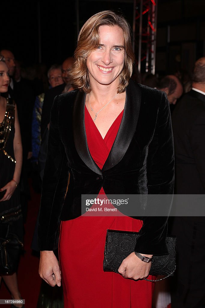 Katherine Grainger CBE attends the annual Collars and Coats gala ball in aid of Battersea Dogs & Cats home at Battersea Evolution on November 7, 2013 in London, England.