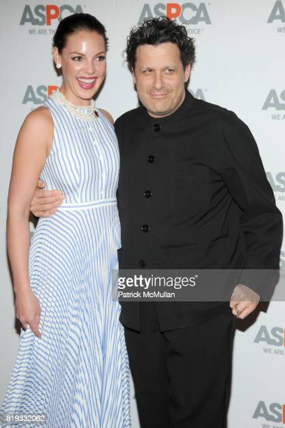 Katherine Heigl and Isaac Mizrahi attend 13th Annual ASPCA Bergh Ball at The Plaza on April 15 2010 in New York City