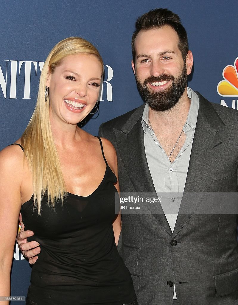 Katherine Heigl and Josh Kelley attend the NBC And Vanity Fair 2014-2015 TV Season Red Carpet Media Event on September 15, 2014, in West Hollywood, California.