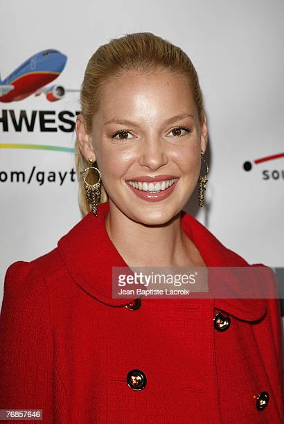 Katherine Heigl arrives at the Advocate Magazine 40th Anniversary Party at Republique club on September 18 2007 in West Hollywood California
