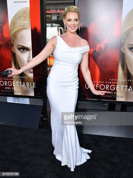 Katherine Heigl arrives at the Premiere Of Warner Bros Pictures' 'Unforgettable' at TCL Chinese Theatre on April 18 2017 in Hollywood California