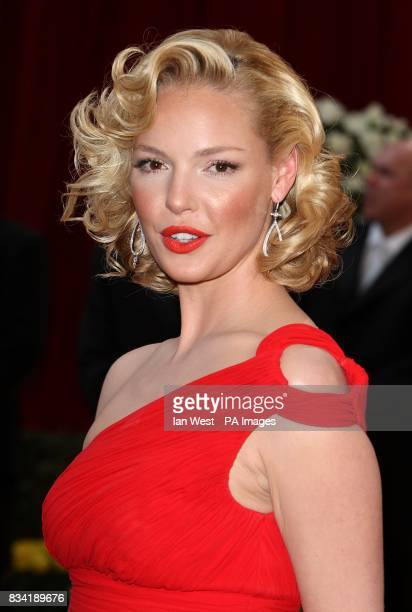 Katherine Heigl arrives for the 80th Academy Awards at the Kodak Theatre Los Angeles
