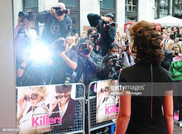 Katherine Heigl arriving for the UK Premiere of Killers at the Odeon West End Leicester Square London