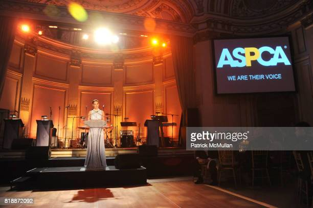 Katherine Heigl attends 13th Annual ASPCA Bergh Ball at The Plaza on April 15 2010 in New York City