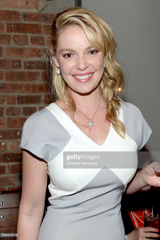 Katherine Heigl attends the 2014 CAA Upfronts party on May 12, 2014 in New York City.