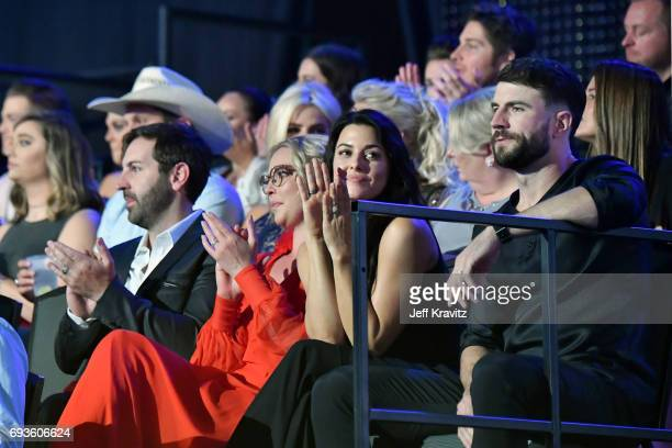 Katherine Heigl attends the 2017 CMT Music Awards at the Music City Center on June 7 2017 in Nashville Tennessee