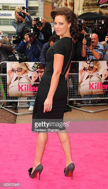 Katherine Heigl attends the European Premiere of 'Killers' at Odeon West End on June 9 2010 in London England