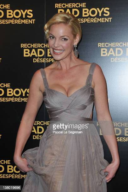 Katherine Heigl attends the Paris Premiere of 'One For The Money' film at Cinema Gaumont Marignan on January 31 2012 in Paris France