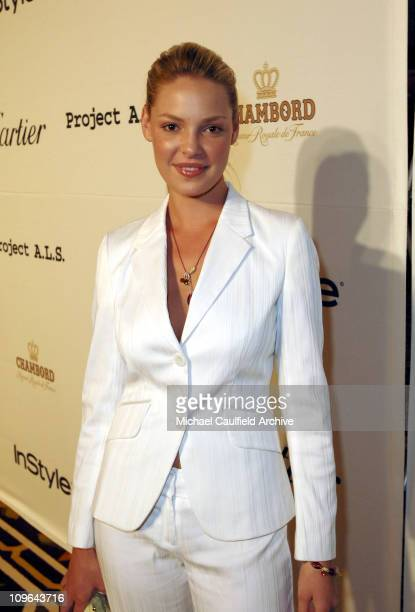 Katherine Heigl during 5th Annual Project ALS Benefit Gala Honoring Ben Stiller Red Carpet at Westin in Los Angeles California United States