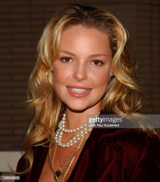 Katherine Heigl during 'Desperate Housewives' Series Premiere Party Arrivals at Barney's in Beverly Hills California United States