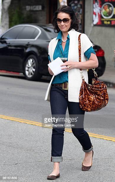 Katherine Heigl is seen in Los Feliz on March 30 2010 in Los Angeles California