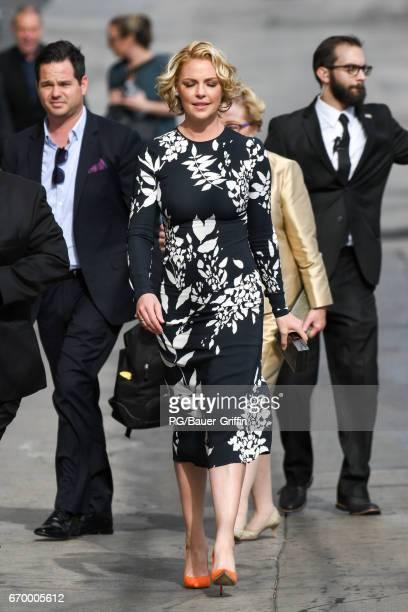 Katherine Heigl is seen on April 18 2017 in Los Angeles California