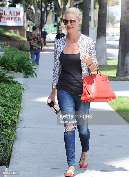 Katherine Heigl is seen on August 10 2015 in Los Angeles California