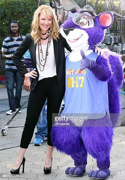 Katherine Heigl is seen on January 10 2014 in Los Angeles California