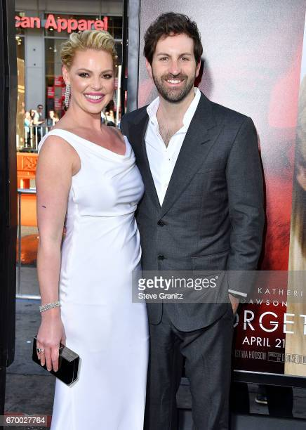 Katherine Heigl Josh Kelley arrives at the Premiere Of Warner Bros Pictures' 'Unforgettable' at TCL Chinese Theatre on April 18 2017 in Hollywood...