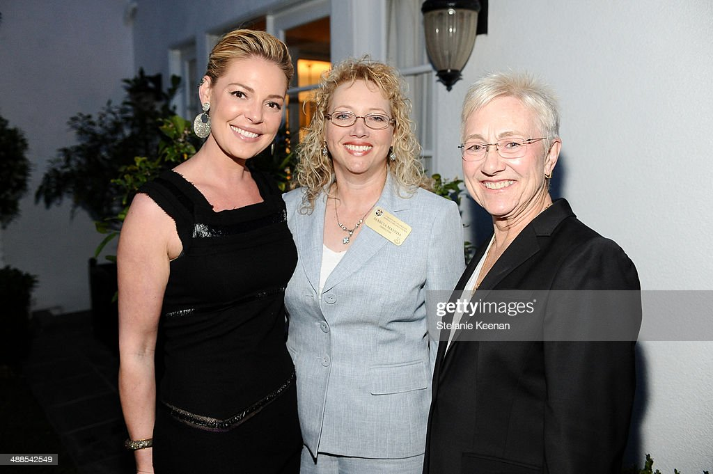 <a gi-track='captionPersonalityLinkClicked' href=/galleries/search?phrase=Katherine+Heigl&family=editorial&specificpeople=206952 ng-click='$event.stopPropagation()'>Katherine Heigl</a>, Marcia Mayeda and Brenda Barnette attend ASPCA Celebrates Its Multi-Million Dollar Commitment To Los Angeles' Animals on May 6, 2014 in Beverly Hills, California.