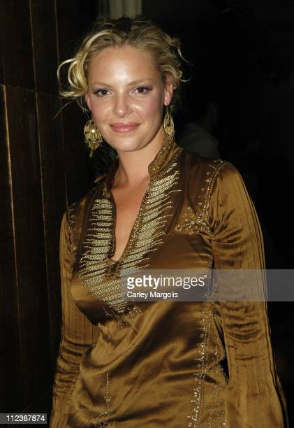 Katherine Heigl of 'Grey's Anatomy' during Celebrities in Town for UpFronts Attend Bunny Chow Tuesdays at Cain May 17 2005 at Cain in New York City...