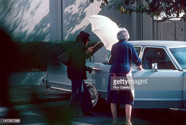 Katherine Hepburn sighted at George Sukor's Beverly Hills Home George Sukor's Beverly Hills Home