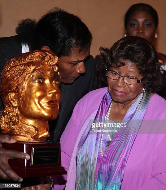 Katherine Jackson attends dinner at Majestic Star Casino Hotel on August 31 2012 in Gary Indiana