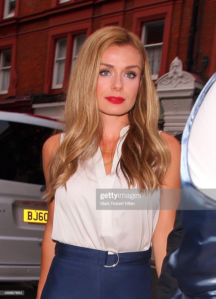 Katherine Jenkins at the Chiltern Firehouse on June 19, 2014 in London, England.