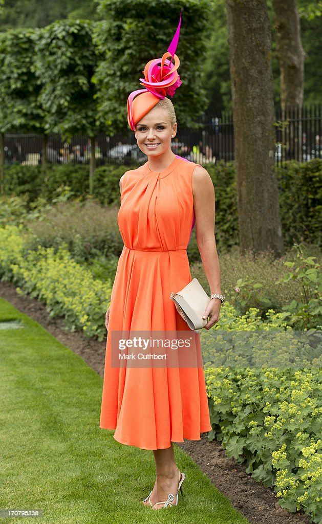 <a gi-track='captionPersonalityLinkClicked' href=/galleries/search?phrase=Katherine+Jenkins&family=editorial&specificpeople=204776 ng-click='$event.stopPropagation()'>Katherine Jenkins</a> attends Day 1 of Royal Ascot at Ascot Racecourse on June 18, 2013 in Ascot, England.