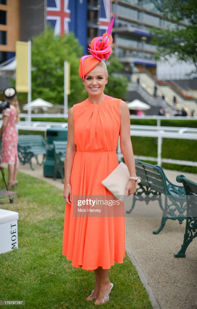 Katherine Jenkins attends Day 1 of Royal Ascot at Ascot Racecourse on June 18, 2013 in Ascot, England.