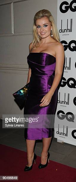 Katherine Jenkins attends the 2009 GQ Men Of The Year Awards at The Royal Opera House on September 8 2009 in London England