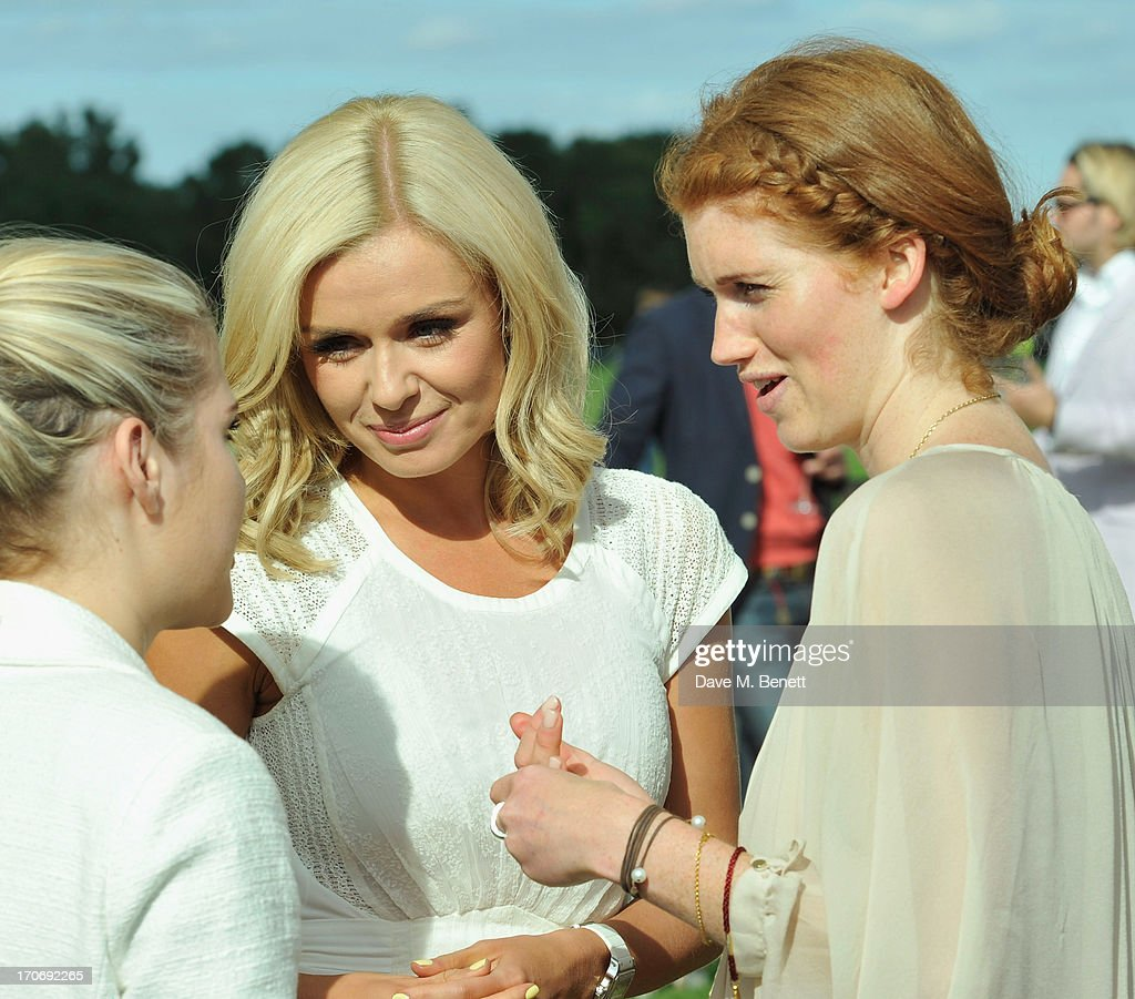 <a gi-track='captionPersonalityLinkClicked' href=/galleries/search?phrase=Katherine+Jenkins&family=editorial&specificpeople=204776 ng-click='$event.stopPropagation()'>Katherine Jenkins</a> attends the Cartier Queen's Cup Polo Day 2013 at Guards Polo Club on June 16, 2013 in Egham, England.