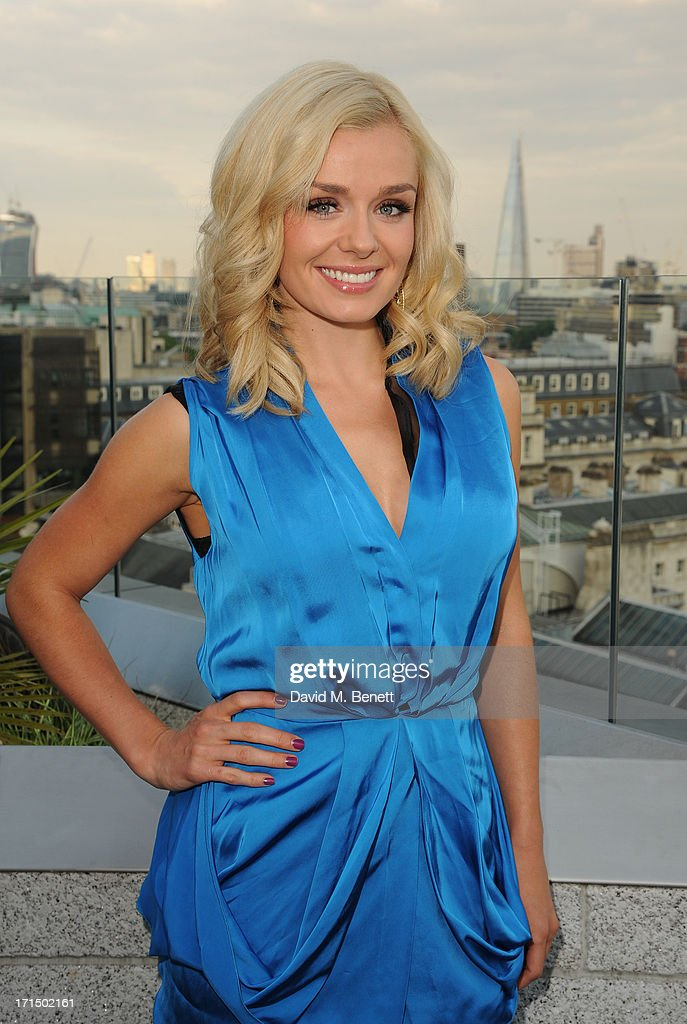 <a gi-track='captionPersonalityLinkClicked' href=/galleries/search?phrase=Katherine+Jenkins&family=editorial&specificpeople=204776 ng-click='$event.stopPropagation()'>Katherine Jenkins</a> attends the Odabash Macdonald Resort 2014 collection launch at ME Hotel on June 25, 2013 in London, England.